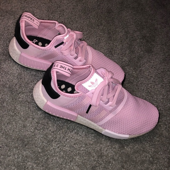 adidas Shoes - Bubblegum Pink Adidas NMD_R1's